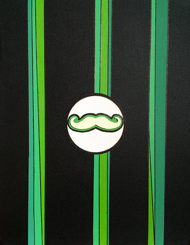 """Monsieur Moustache """"G"""""""