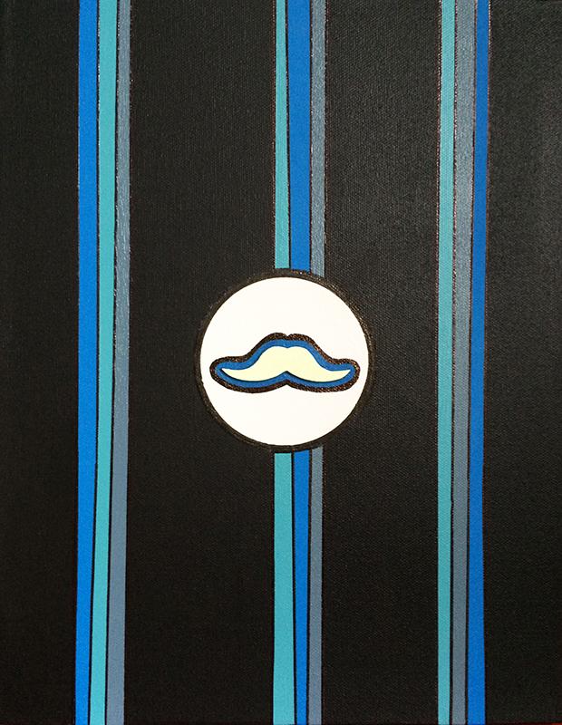 """Monsieur Moustache """"B"""""""