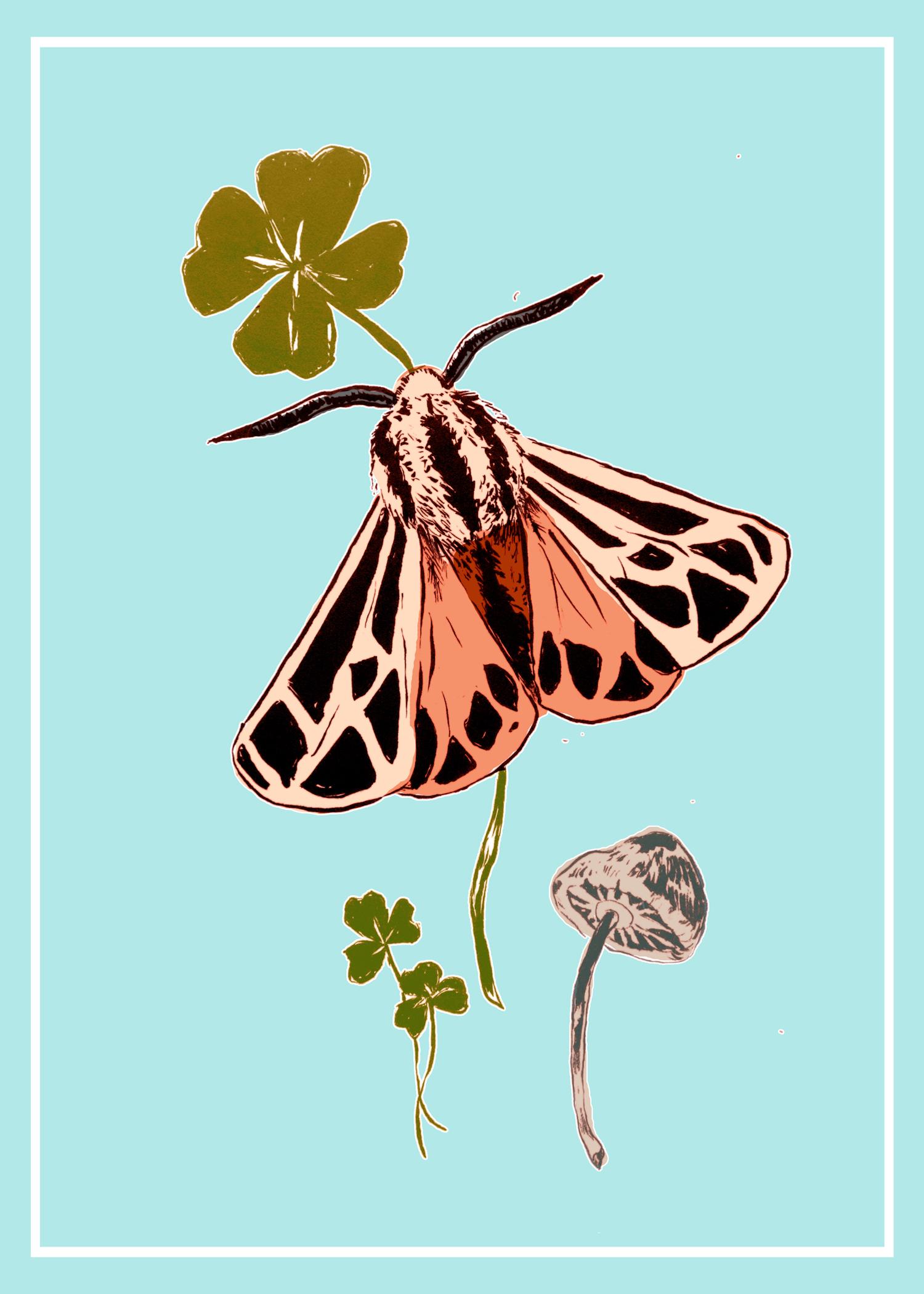 March Postcard Design