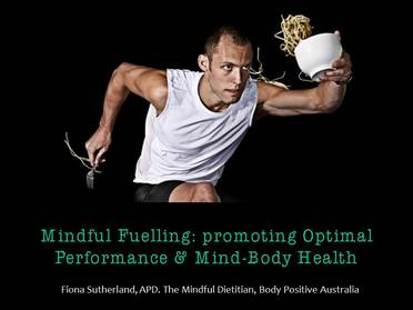 - Mindful eating encourages athletes to use awareness & curiosity......to work out what works best for them.