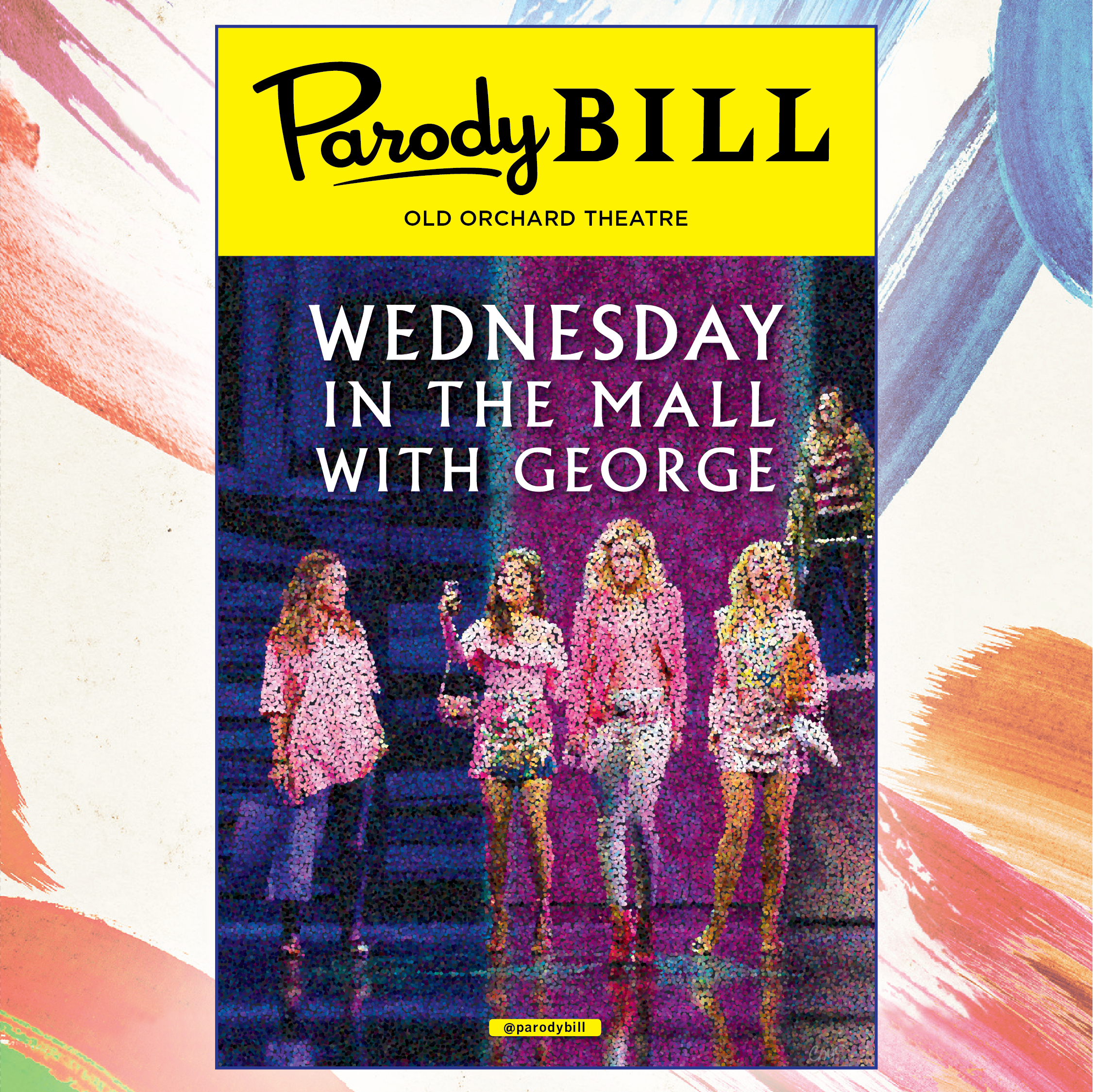 WEDNESDAY IN THE MALL WITH GEORGE