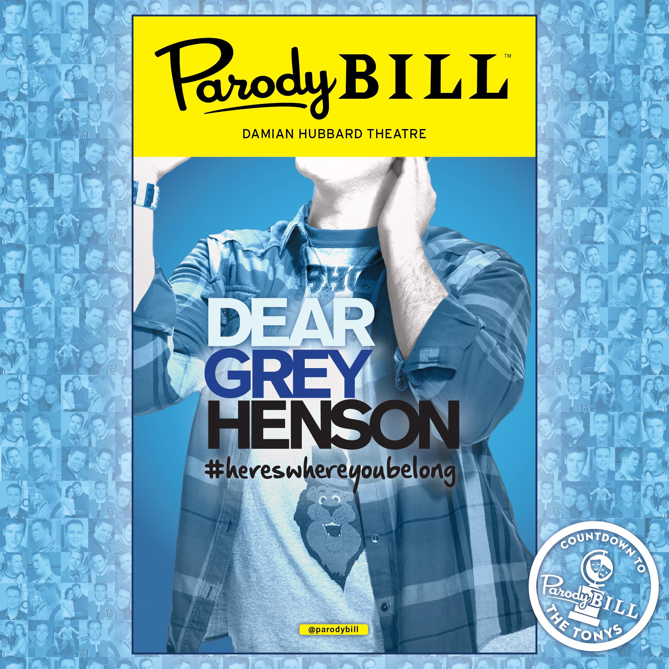 DEAR GREY HENSON