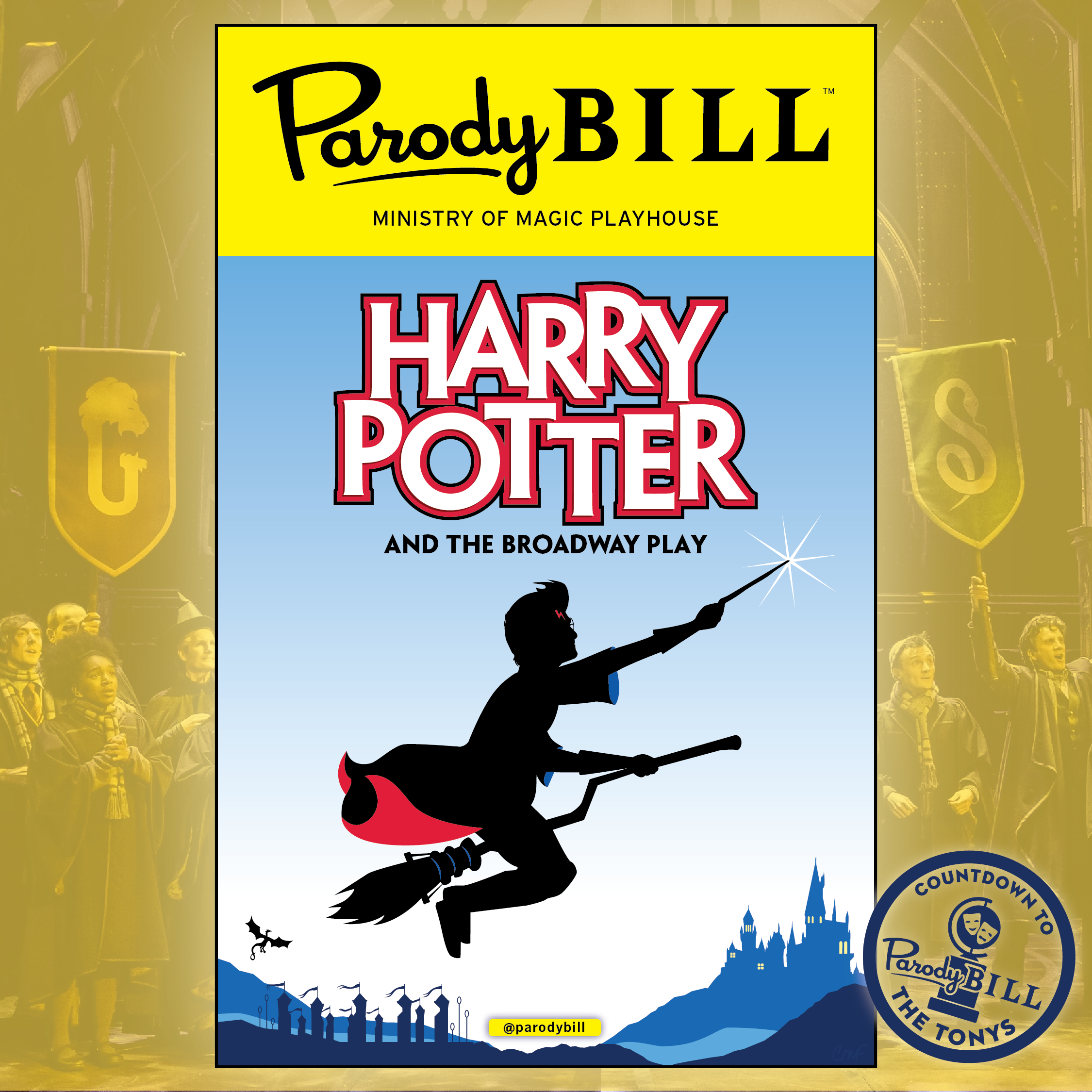 HARRY POPPINS AND THE BROADWAY PLAY