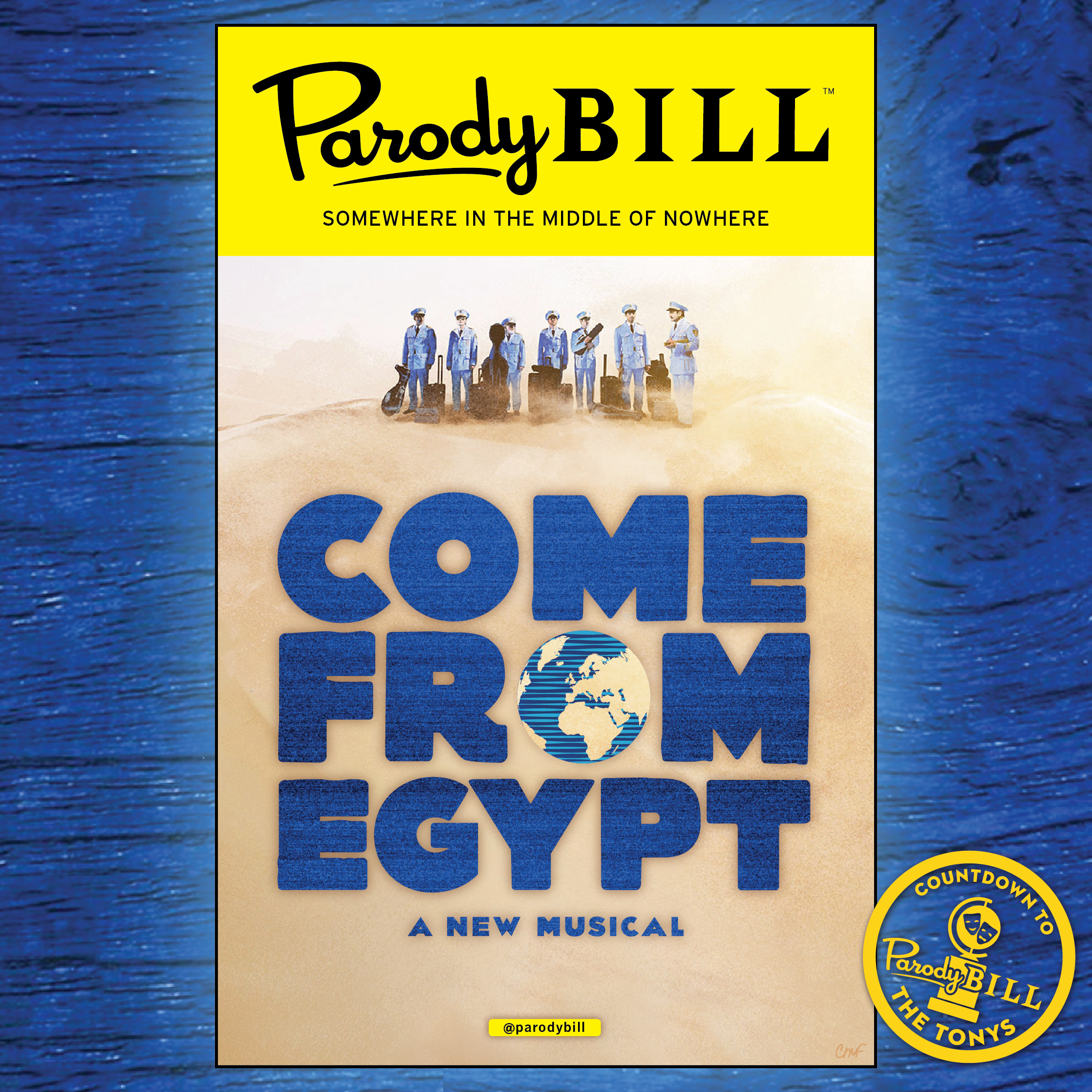 COME FROM EGYPT