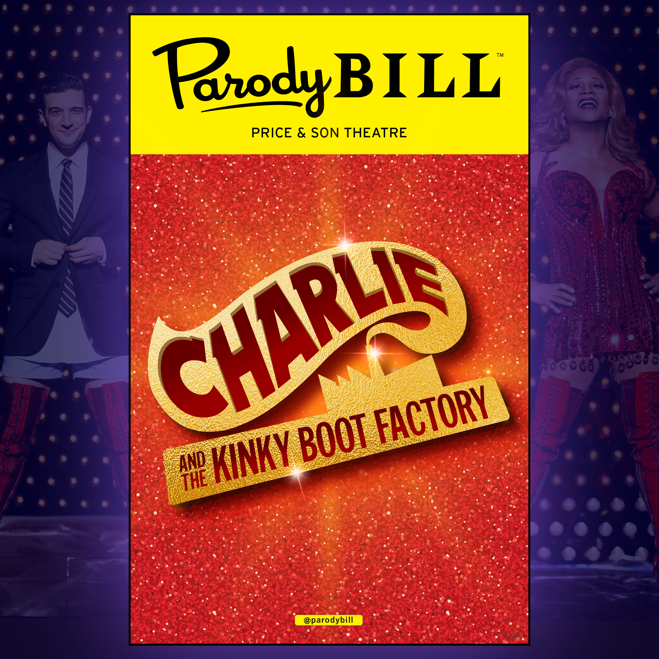 CHARLIE AND THE KINKY BOOT FACTORY