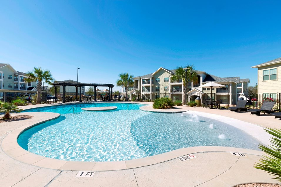 The Strand Apartments located in Kyle, TX.