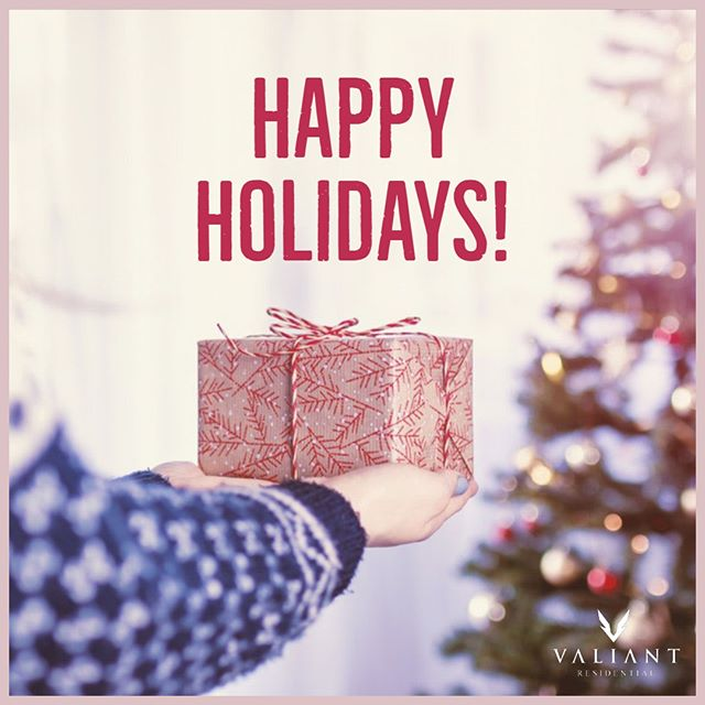 From all of us at Valiant Residential, we wish you the very happiest of holidays!  Our community leasing offices and corporate offices will be closed December 24th-25th, resuming normal business hours on December 26th.  #bevaliant #happyholidays #propertymanagment #realestate #multifamily #apartmentliving #texas #dallas #fortworth #austin #houston
