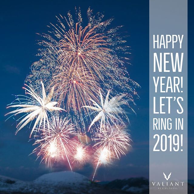 To our clients, friends, team members, and residents who have made our progress possible, we extend our warmest wishes for a prosperous and peaceful New Year.  Our community leasing offices and corporate office will be closed New Year's Day, resuming normal business hours on 1/2/19.  #bevaliant #propertymanagement #realestate #multifamily #apartmentliving #newyears #2019 #texas #dallas #fortworth #austin #houston
