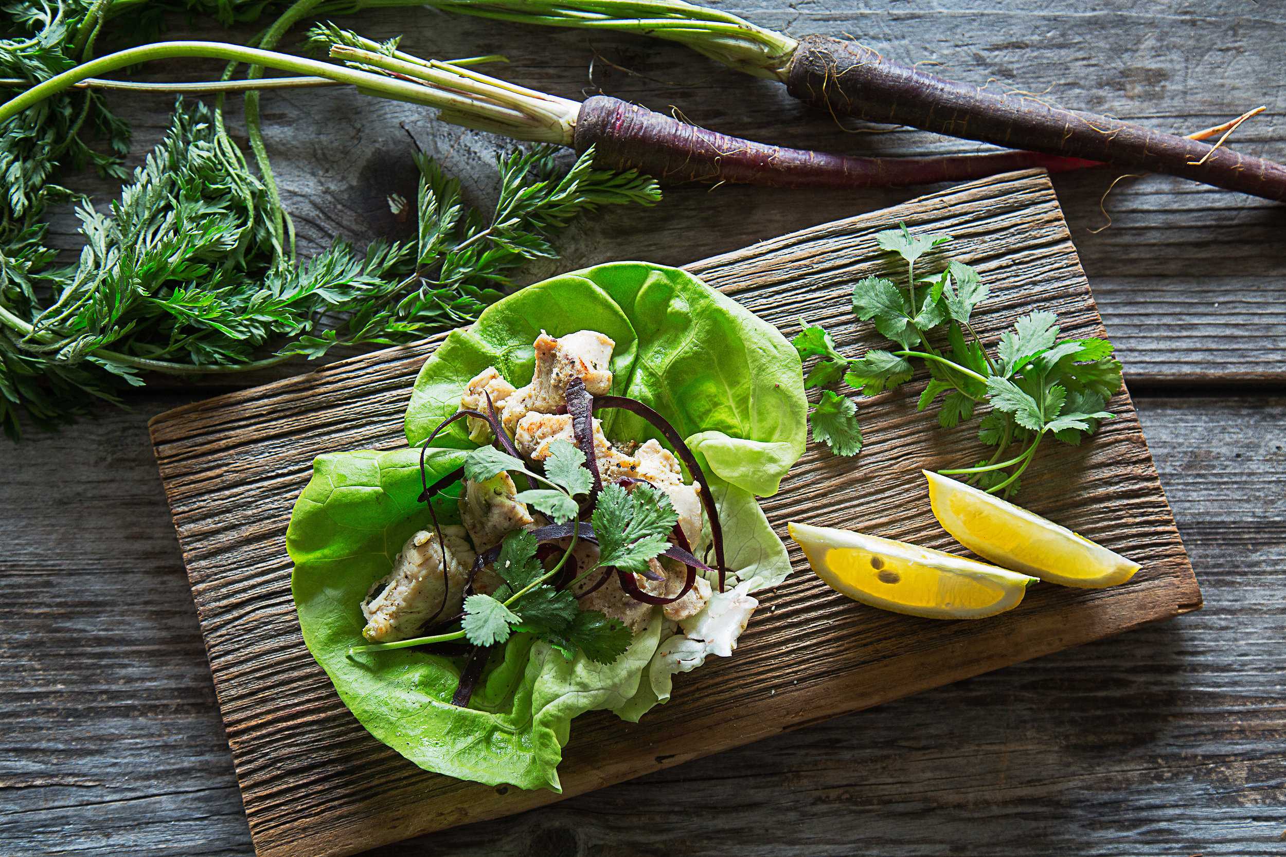 Easy to make lettuce wraps. From our kitchen to yours!