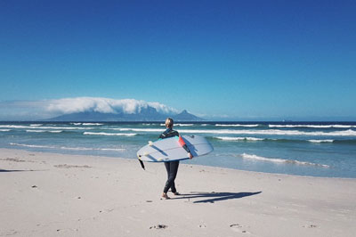 Surfing. South Africa offers some of the best conditions in world for kite & surf. There are waves and wind for beginners, experts, and everything in between.