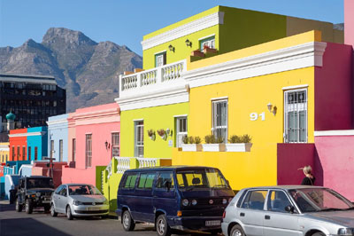 Visiting the most colourful and historical neighbourhoods in Cape Town.