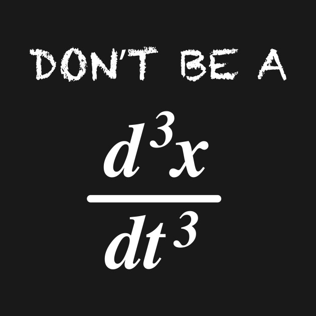 "Math for, ""Don't Be A Jerk"""