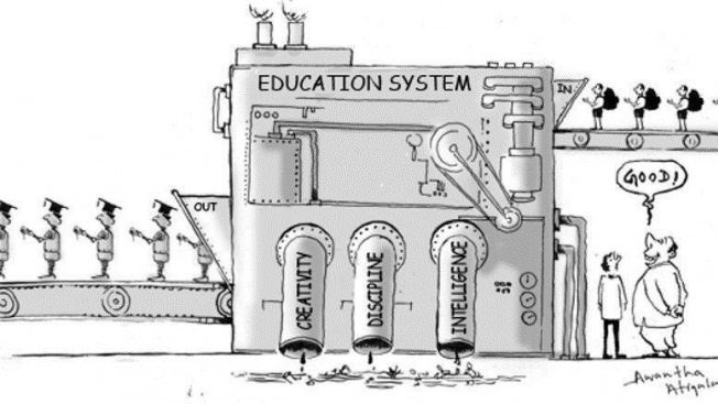 The education factory needs a reboot...