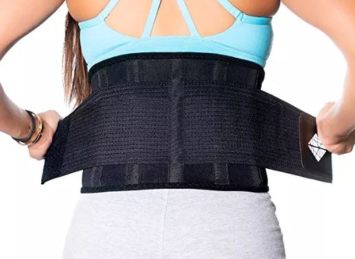 Get this style of back brace on Amazon and keep it handy in case you ever need it.