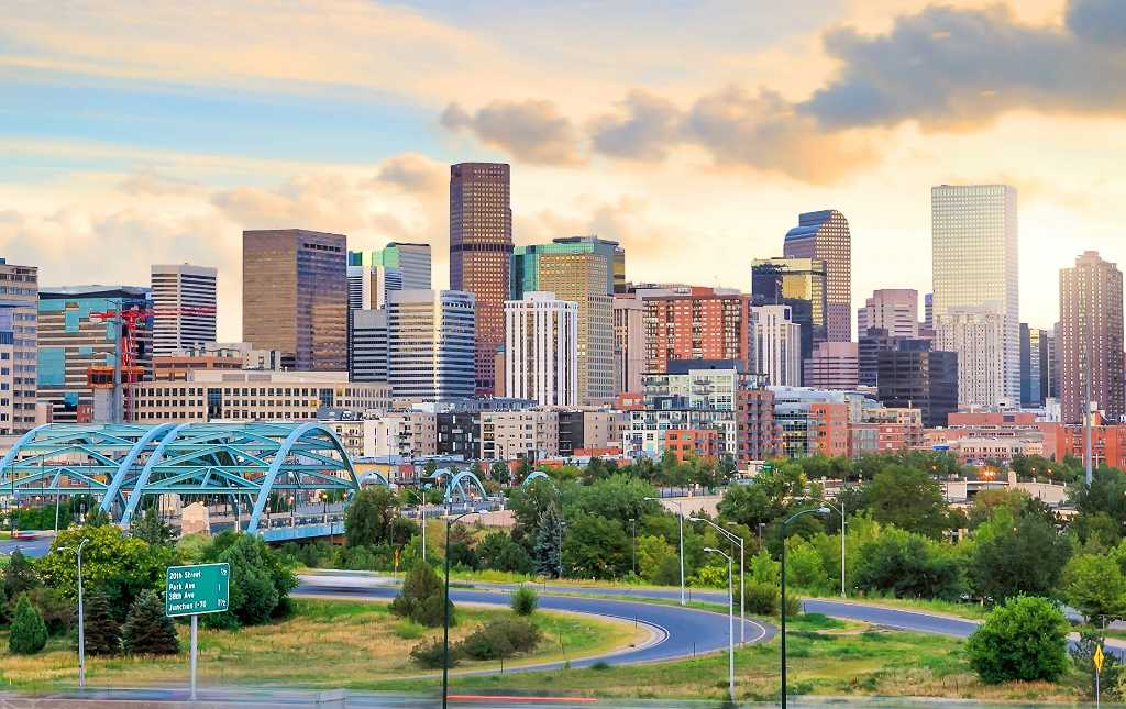 Denver has 300 days of sun per year and is only 70 minutes from world-class skiing!