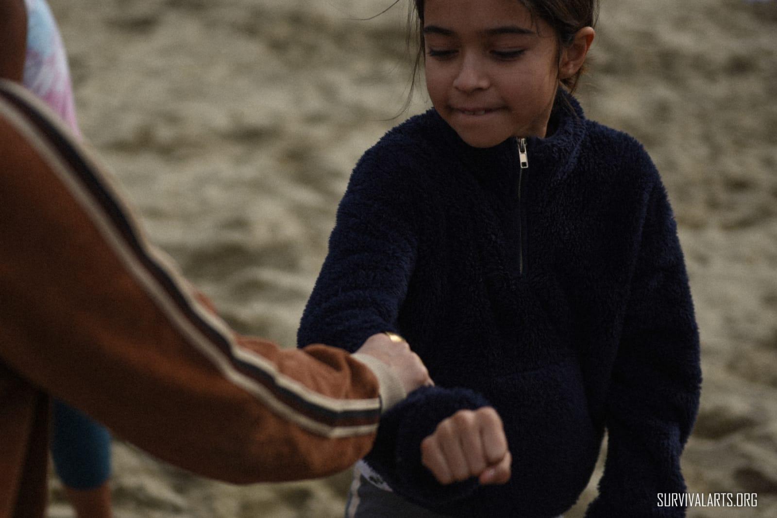 Survival Arts Arm Grab Response Training for Girls.jpg