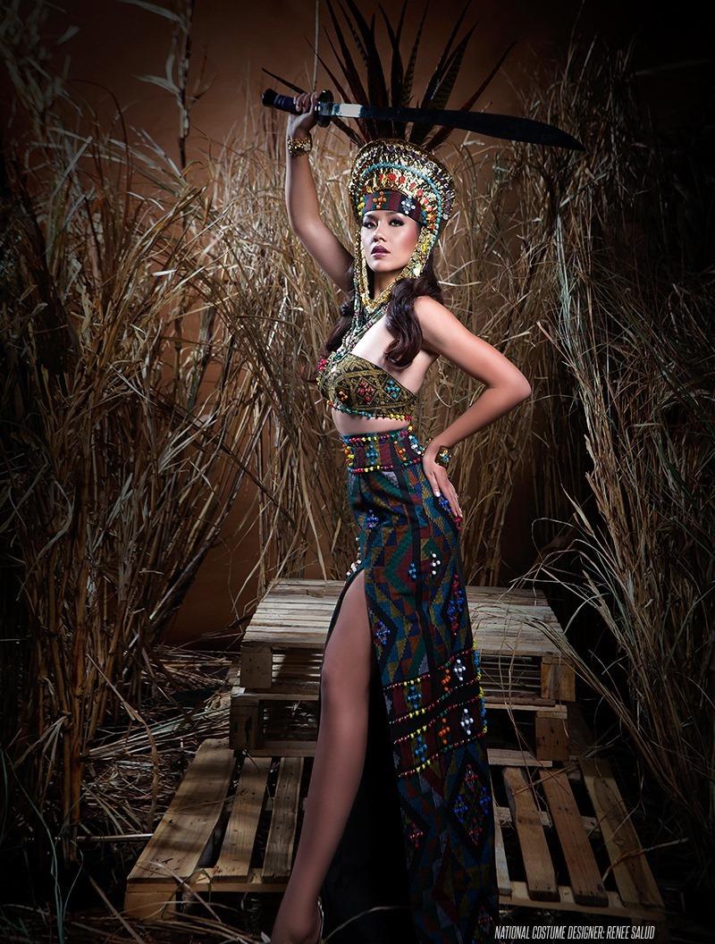 Julia Saubier as Queen Urduha for Binibining Pilipinas 2019