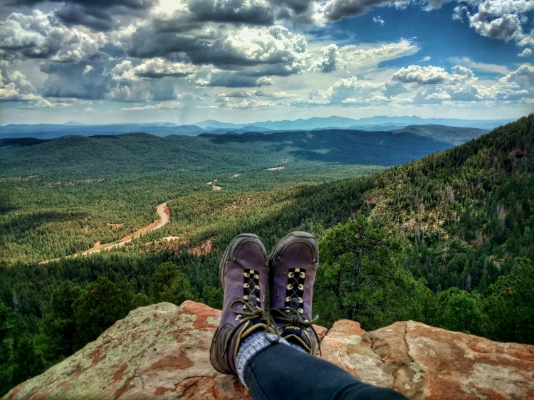 A view from the top of the Mogollon Rim