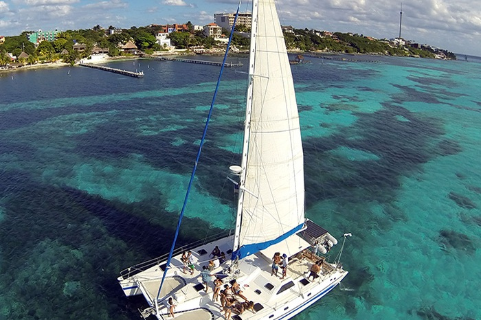 BADDIES & BOSSES BOAT PARTY - Enjoy a half day, boating through the Caribbean Sea aboard our 50 ft Catamaran. Open bar and snorkel equipment included.