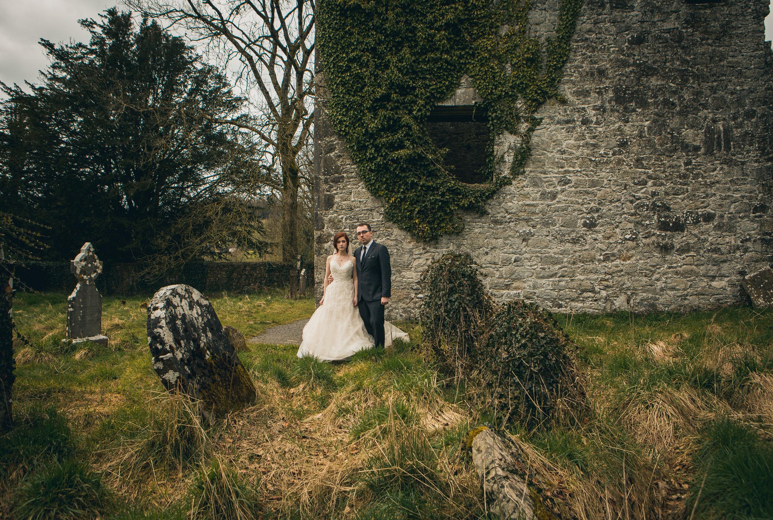 Kelsey + Ricky - Loughcrew House, Ireland
