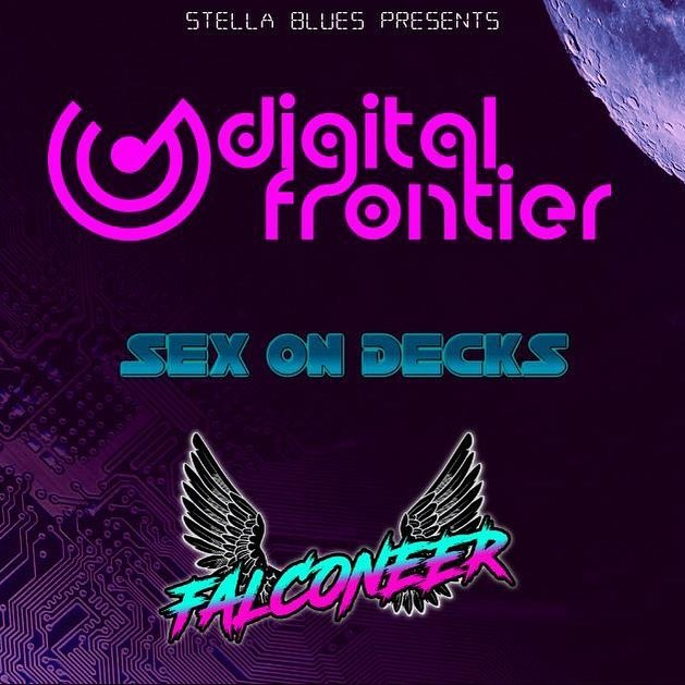 Thursday night we are taking over #newhaven #connecticut @stellabluesnewhaven along with @sex_on_decks and @_falconeer_  #dance and #party with us to some #techno #house #synthwave #psychedelic #letsgetdigital