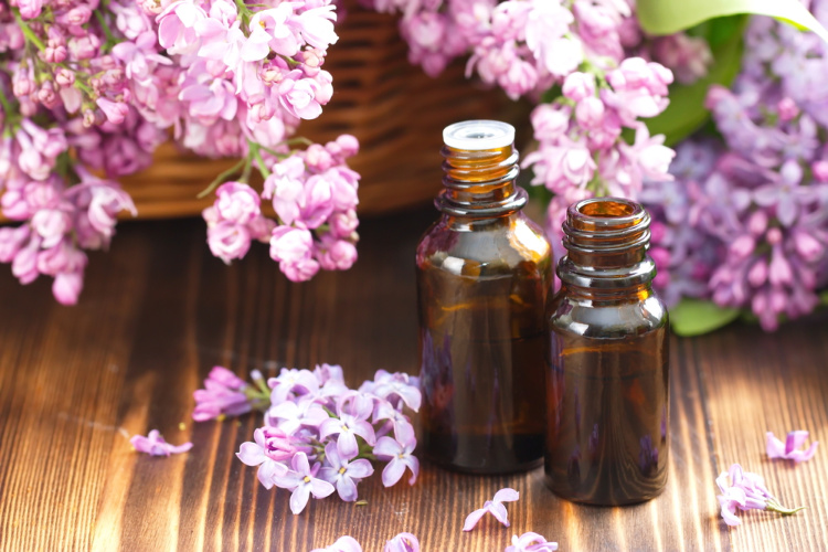 Terpenes flowers and vials