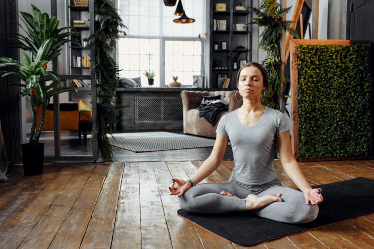 Meditating while high