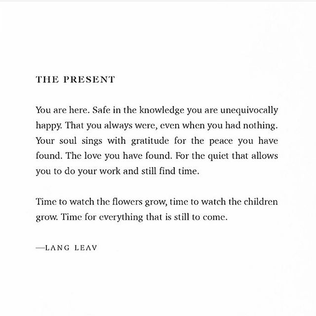 I am here 💛 . . . Poetry by @langleav . #poetry #iamhere