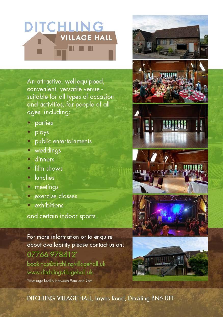 Ditchling Village Hall -