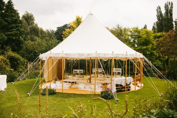 Size   9m x 9m  30' x 30'   Capacity   Bar / chill out tent