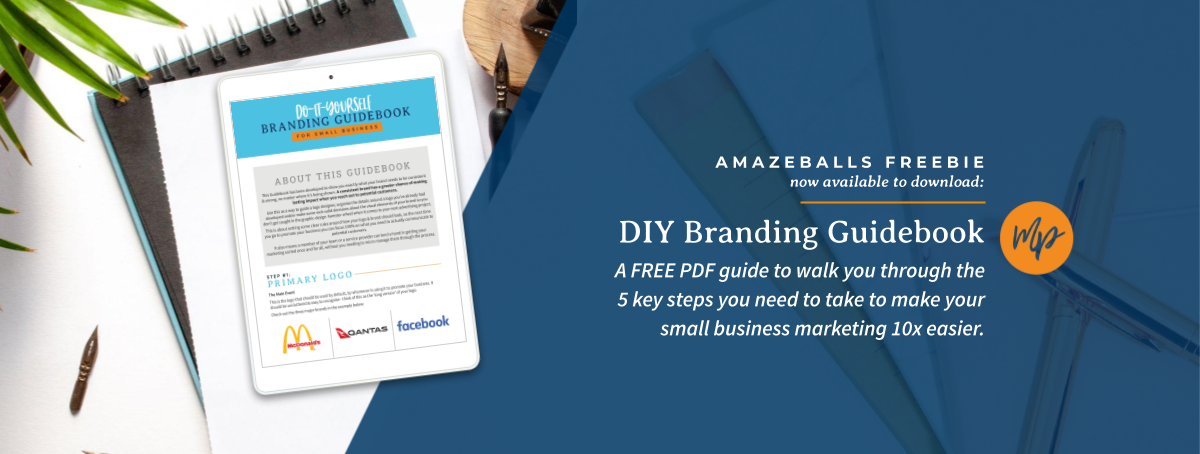 Get your FREE DIY Branding Guidebook