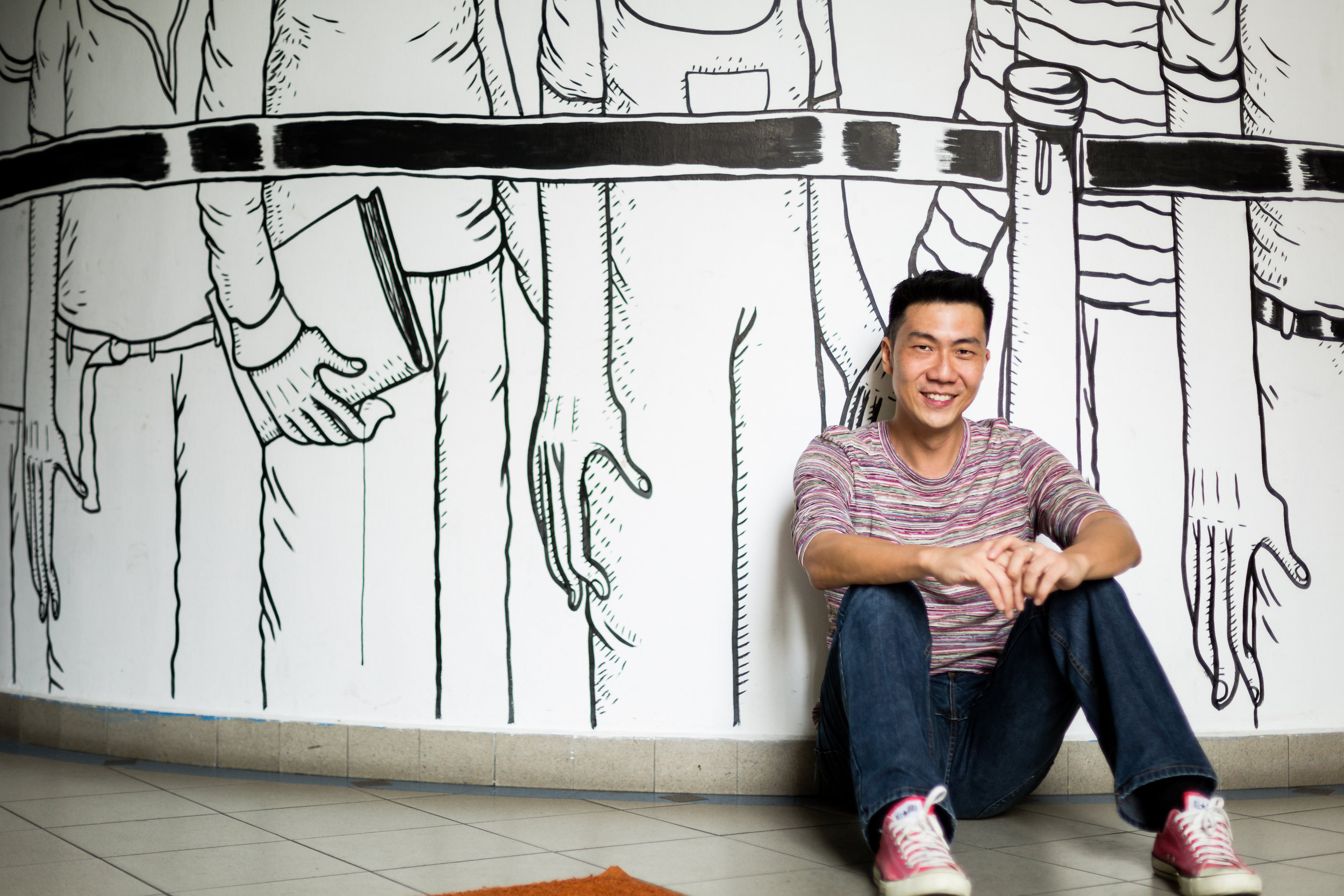 Ken Kwek, author of Timothy and the Phubbers