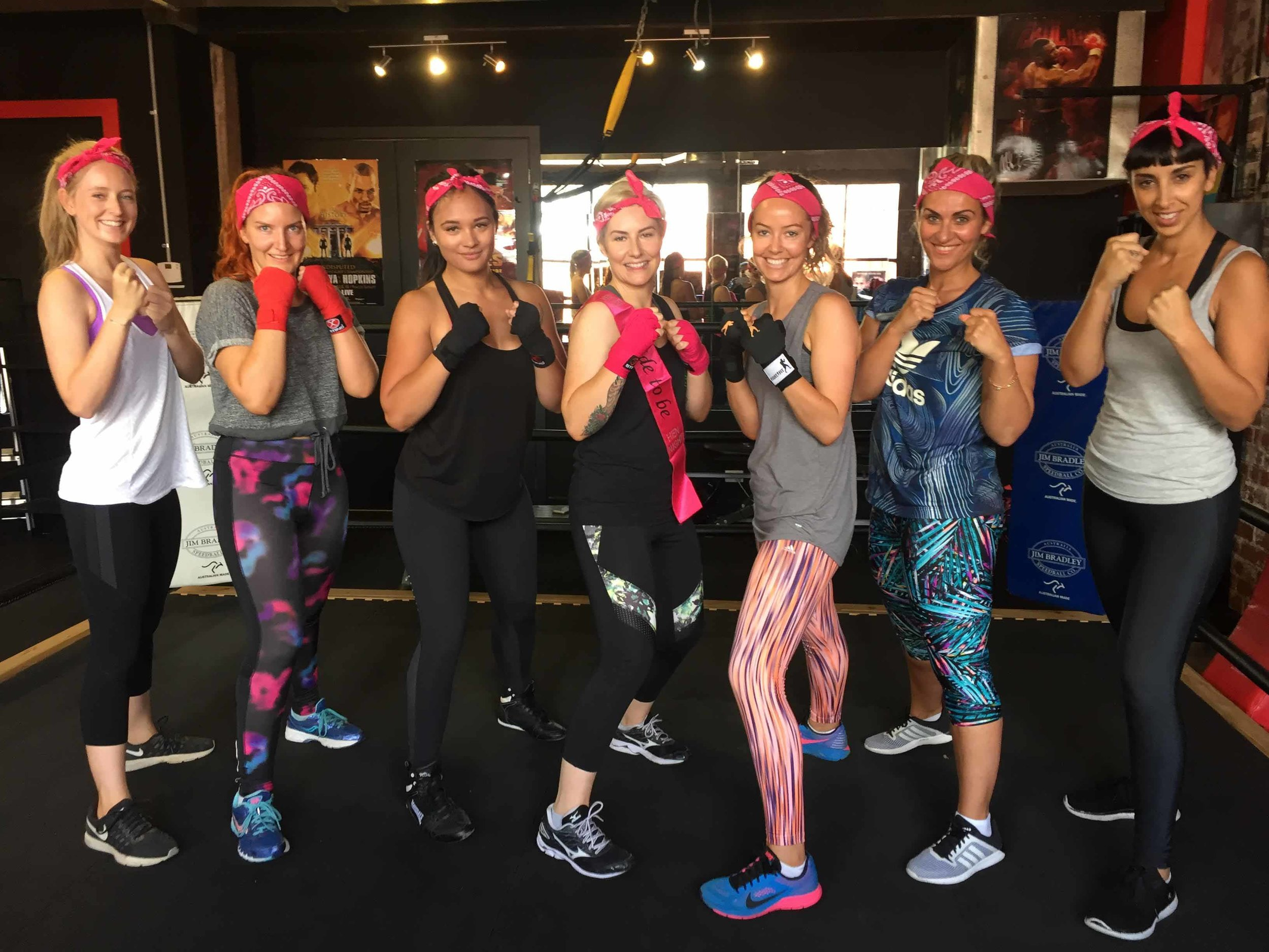 Knock Out Hens Nights at Fitness Ring