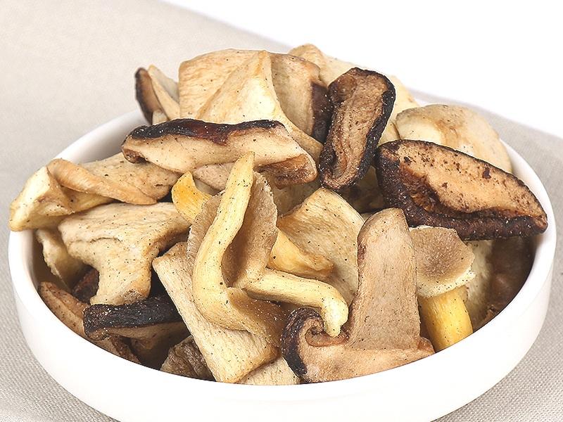 Crunchy Oyster Mushrooms