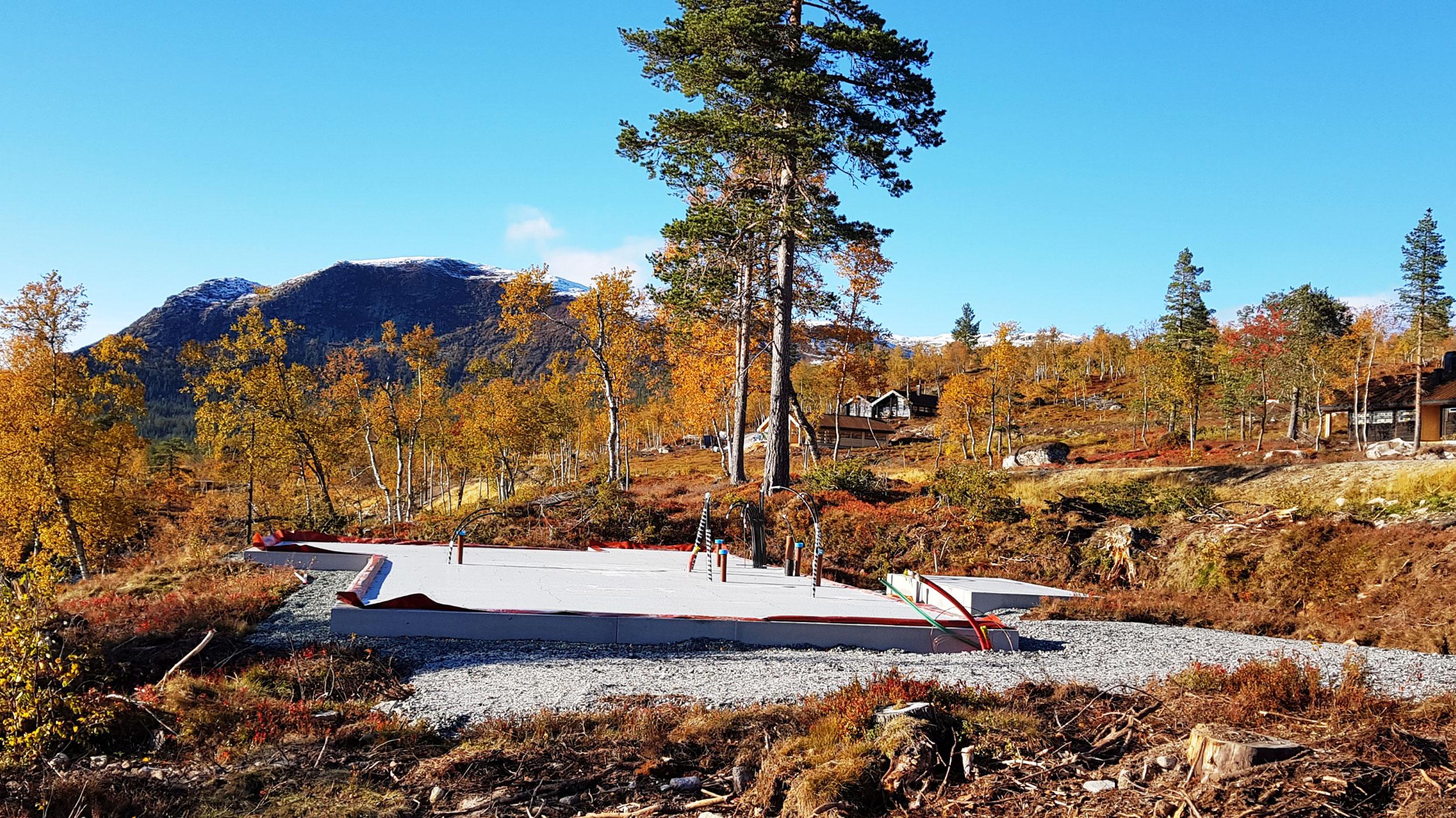 Utsikt mot Sørbølfjell fra tomt 75