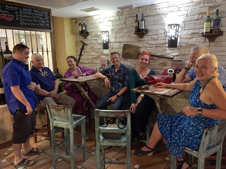 Evening tapas tour of Granada