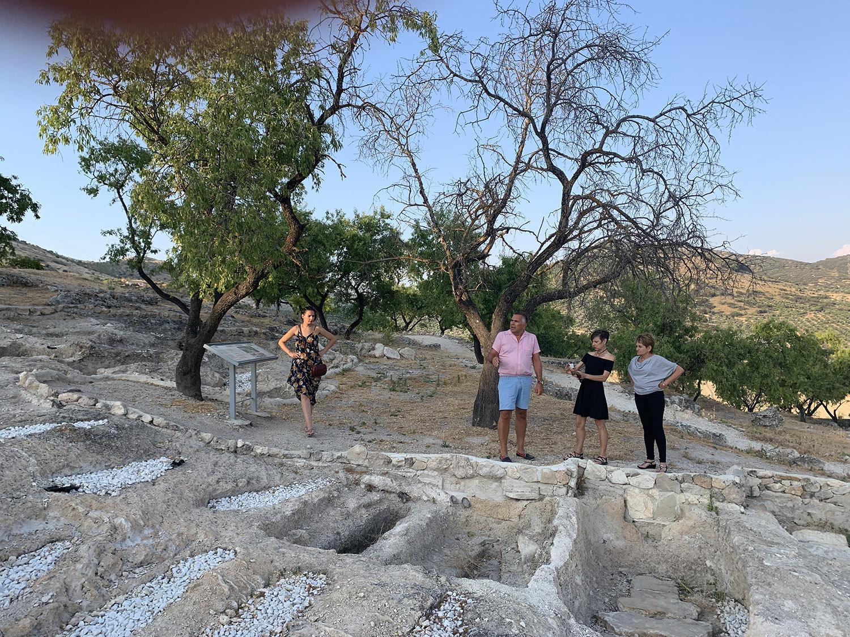 Mozarabe burial ground, Tozar