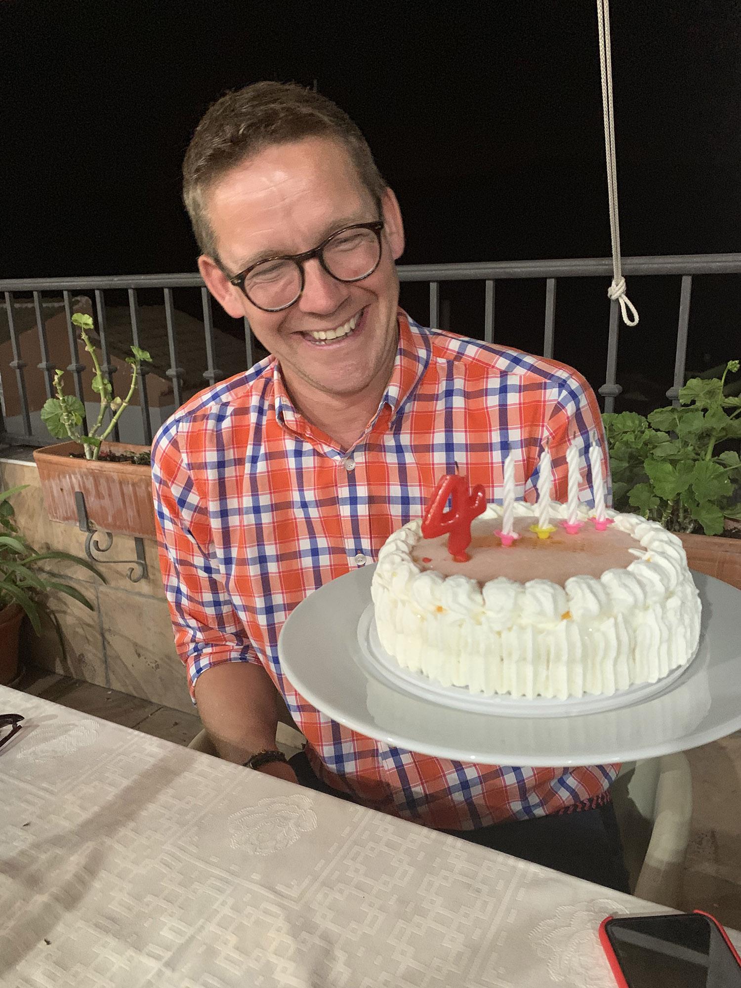 Andrew's birthday cake!