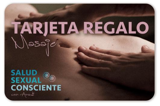 Tarjeta Regalo -Salud Sexual Consciente con Anadi