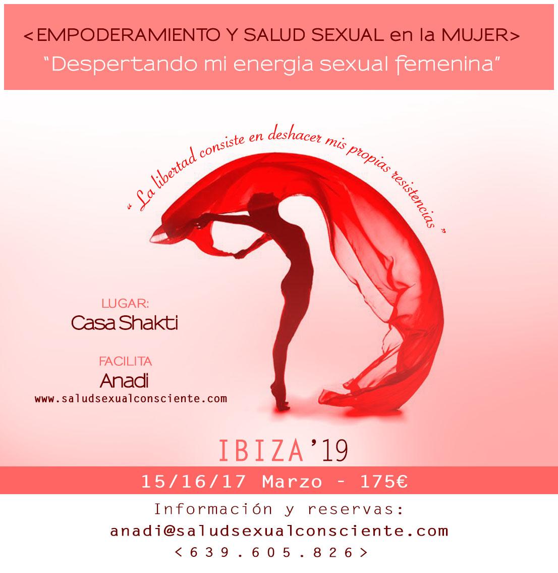 Taller de Salud Sexual Consciente con Anadi