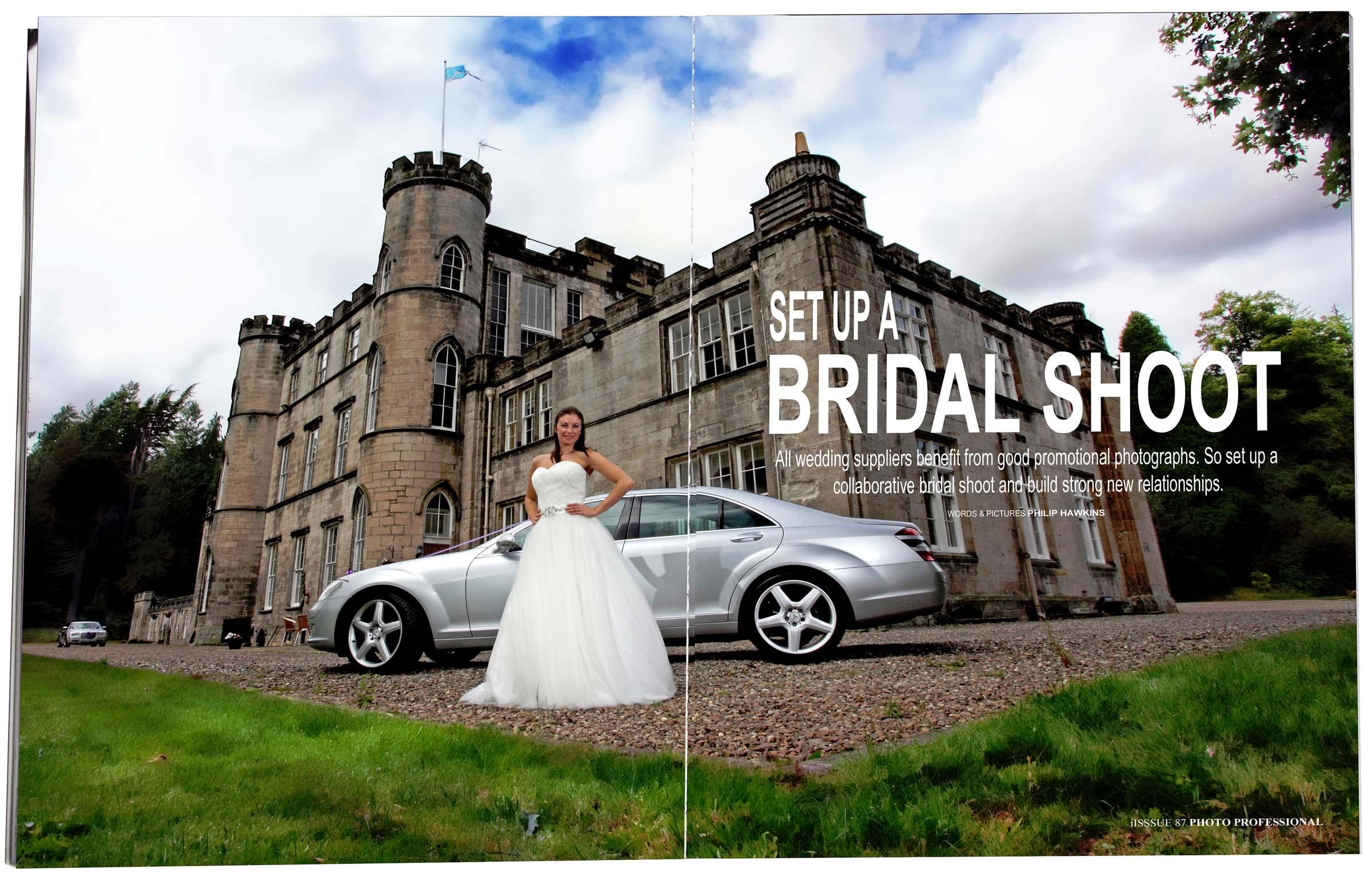 Bridal Shoot magazine feature