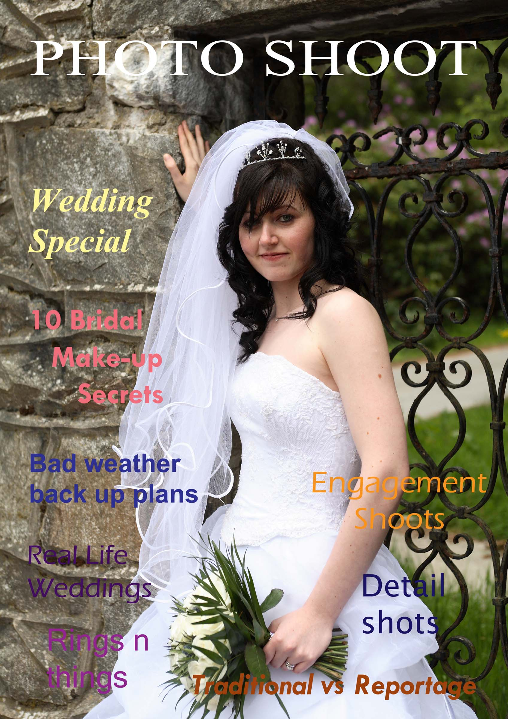 Wedding Photography magazine cover