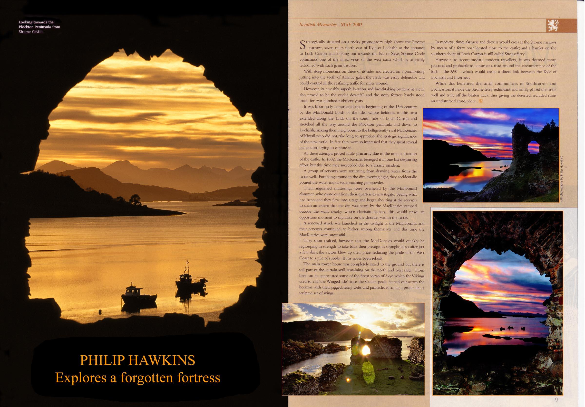 Highland landscape magazine feature