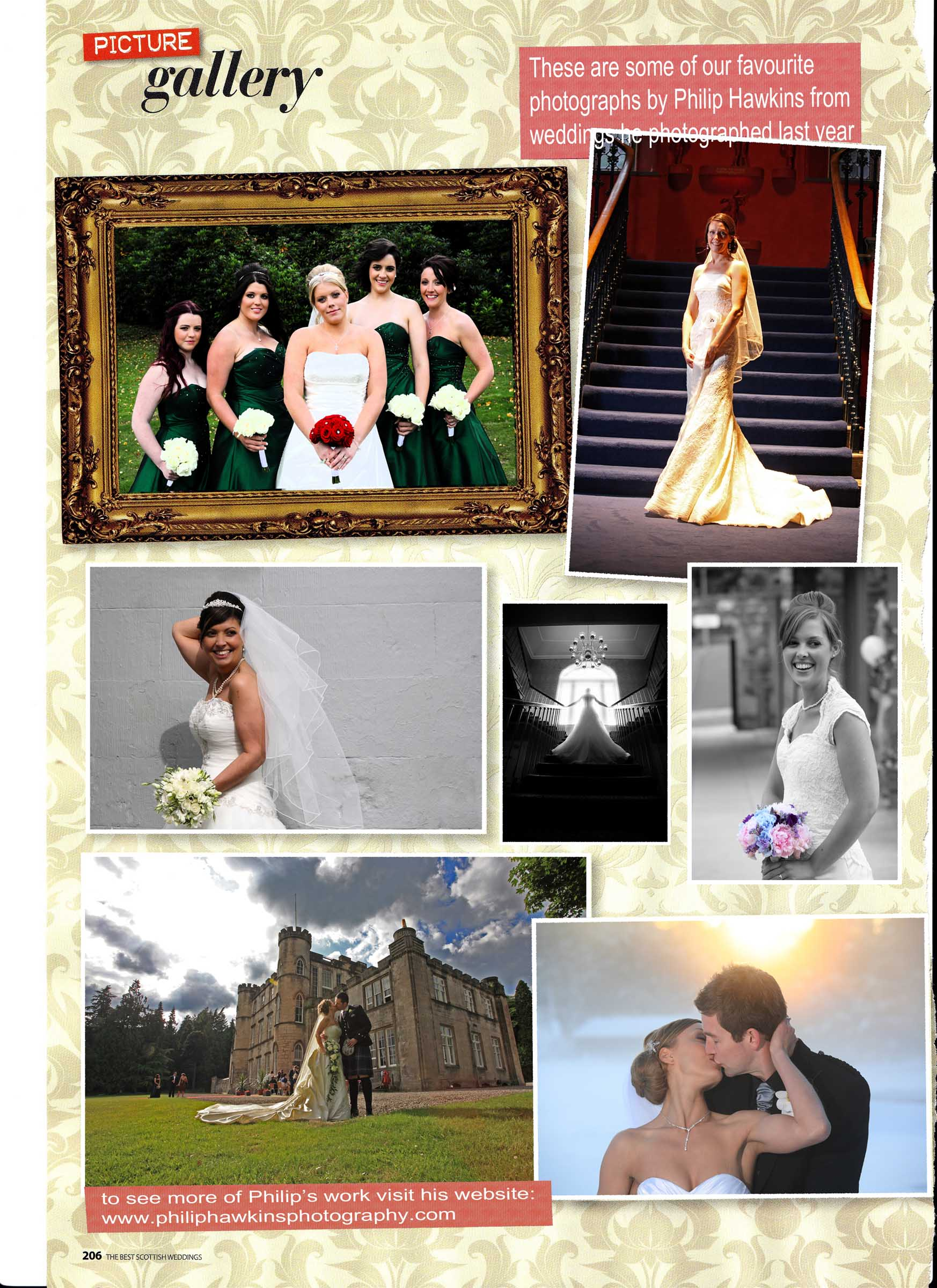 Wedding Photographer magazine feature of Philip Hawkins