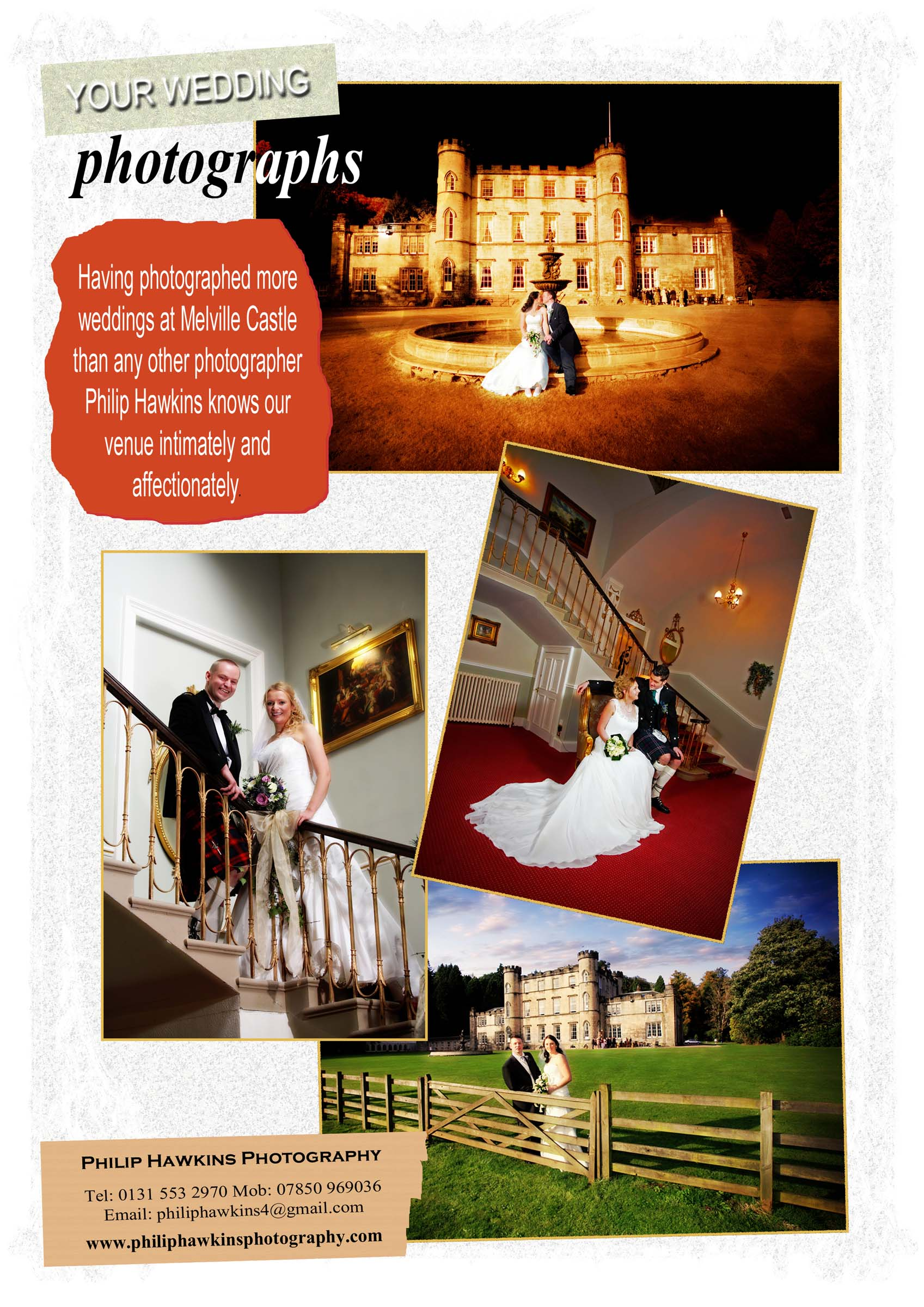 Wedding Photographer magazine feature