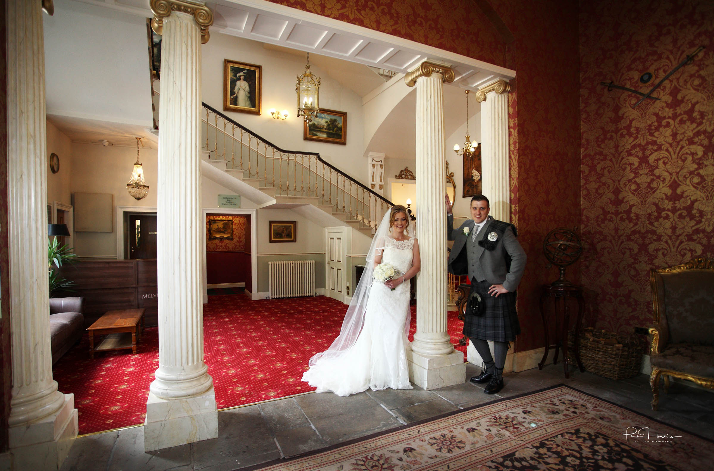 This is one from Mary and Alistair's Bride & Groom shoot at the magnificent Melville Castle. I've been photographing weddings since the age of 16 and just love the buzz of being part of such a special day! Mary posted a fantastic review of my wedding photography this week on the Scottish Wedding Directory.