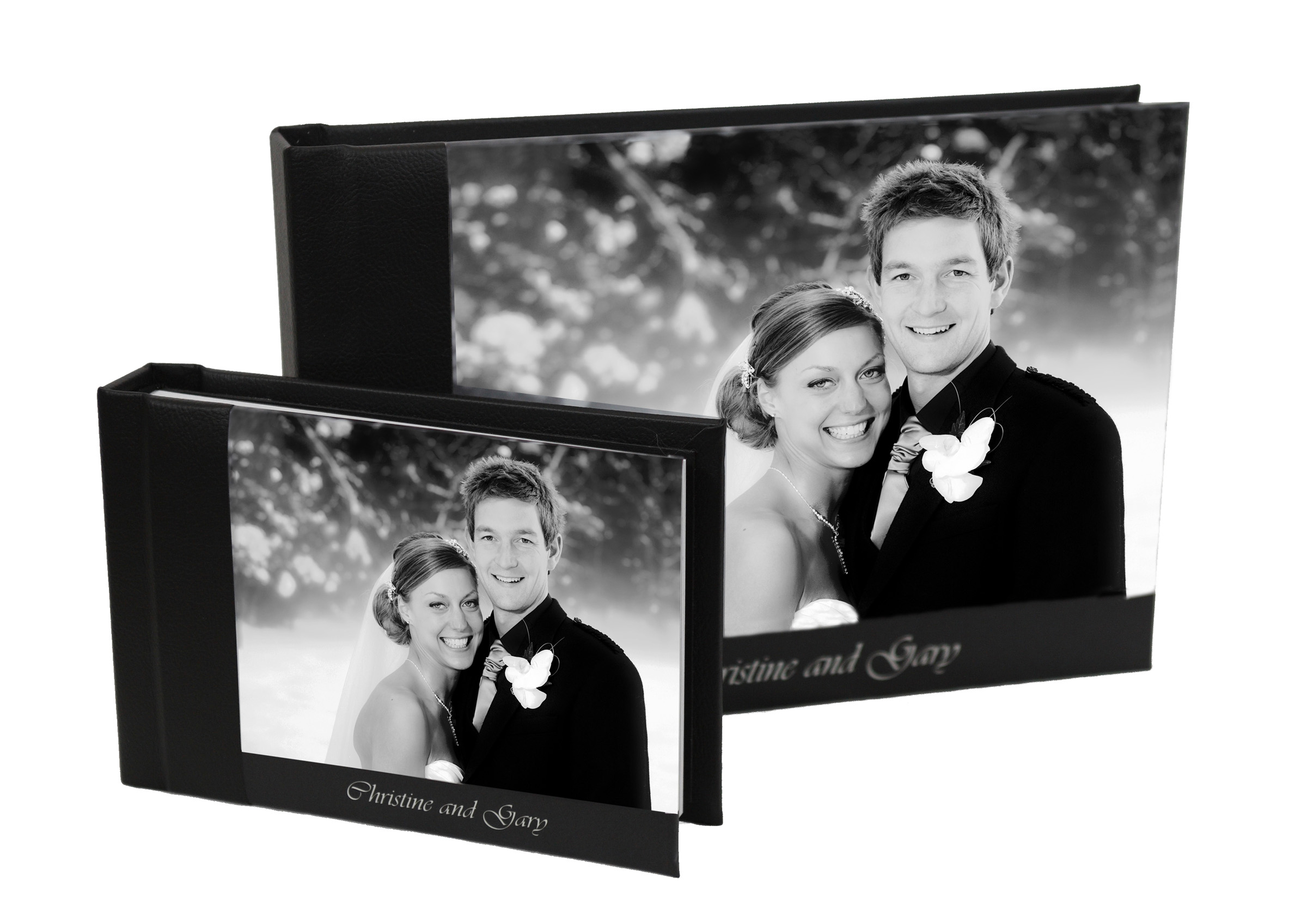 D  ouble Your Wedding Albums  - Two complimentary Parent Albums alongside your own.