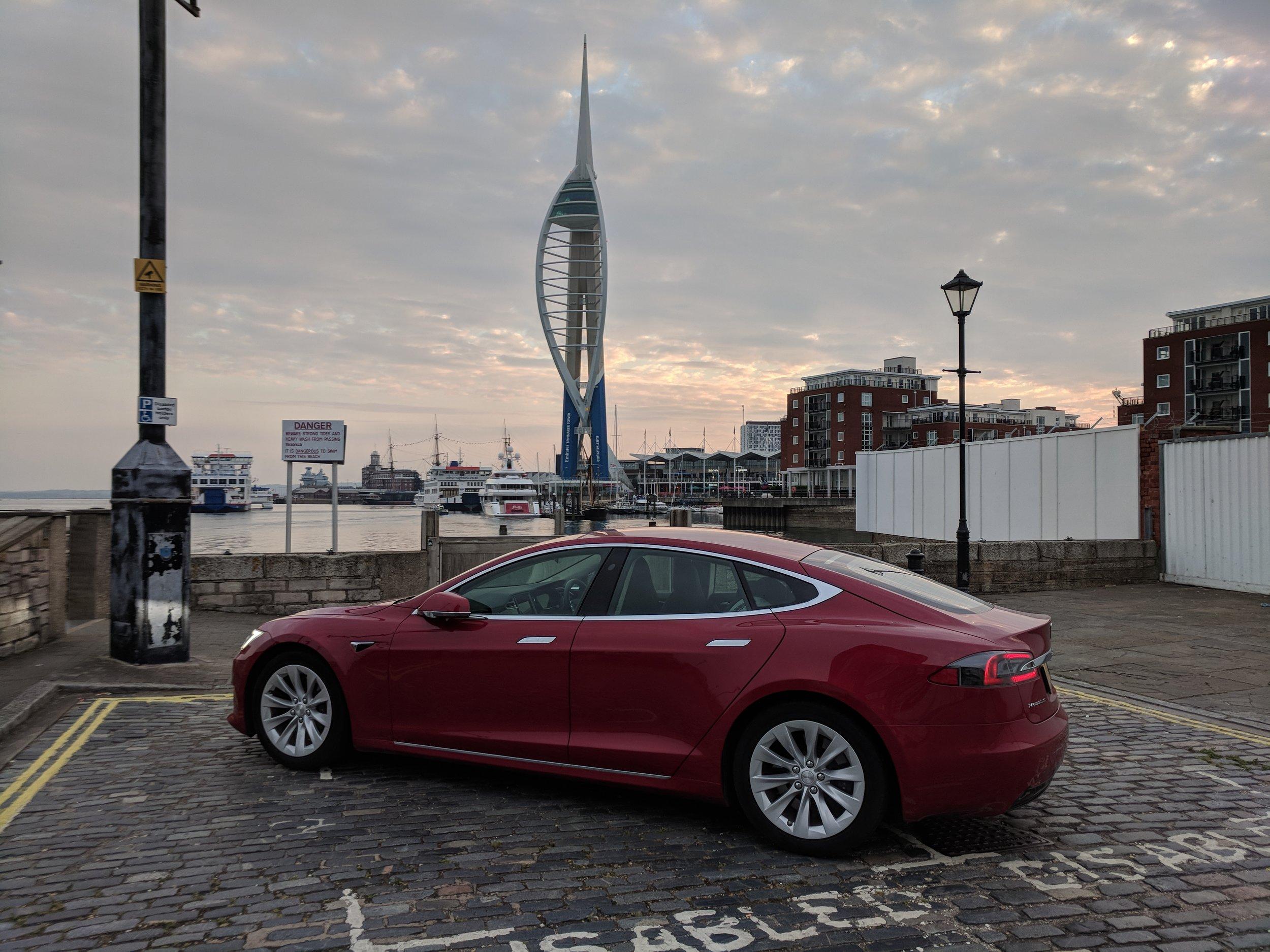 Tesla Model S - Spice Island