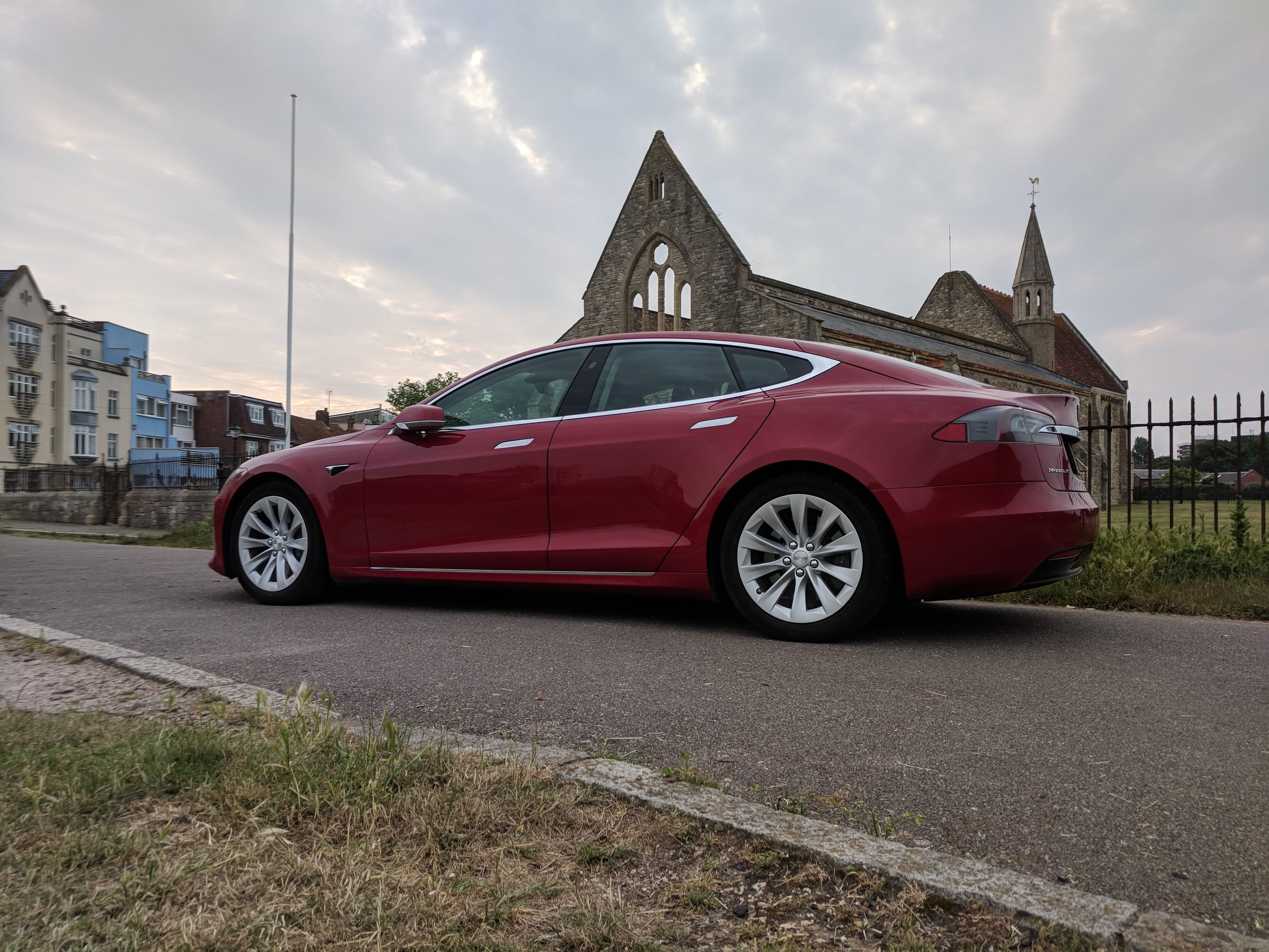 Tesla Model S - Garrison Church