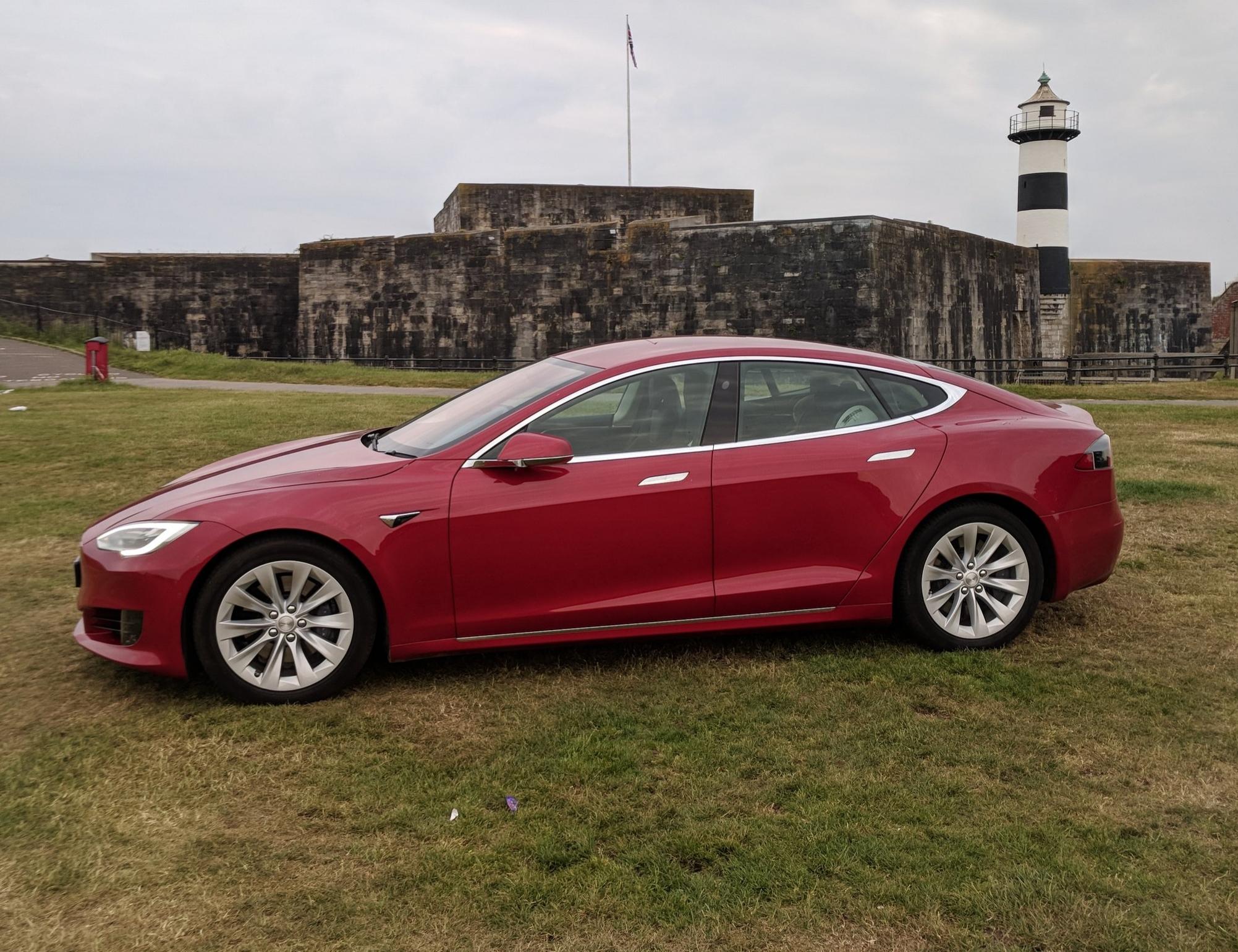 Tesla Model S - Castle Field
